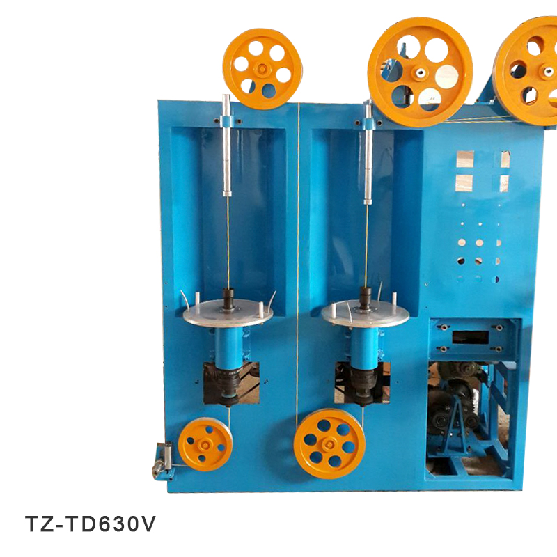 Vertical Double Layer Auto Cable Wire Tapping Machine | TaiZheng