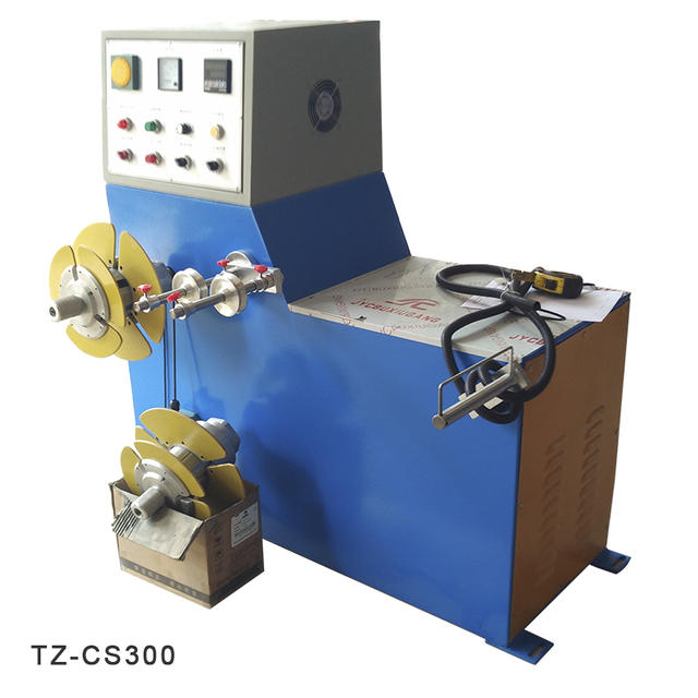 semi auto coiling machine