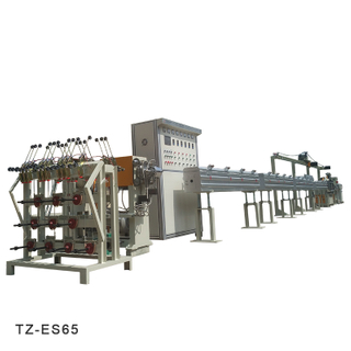 Industrial Silicone Plastic Cable Wire Extruder Line | TaiZheng