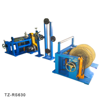 Take-up Re-spooling Cable Spooling Toroidal Coiling Machine | TaiZheng